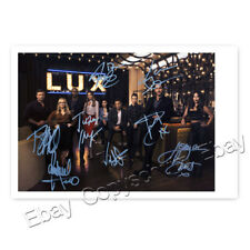 Lucifer mit Tom Ellis, German, Woodside, Alejandro, Harris, Brandt  Autogramm