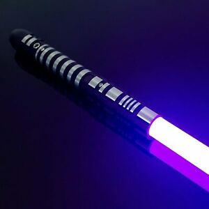 Gift Lightsaber Star Wars Replica Fx Force Metal Dueling Metal RGB Cosplay Props