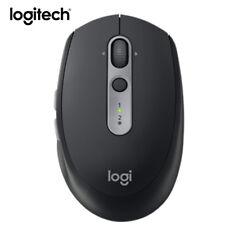 Logitech M590 Silent Wireless Bluetooth Computer Mouse Dual Mode Nano Receiver
