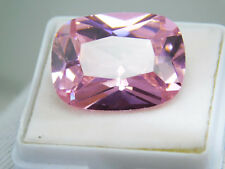 Zircon natural untreated cambodian cushion cut 35.10Cts pink loose gemstone 1793