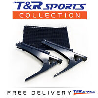 Table Tennis Ping Pong Clamp Net & Post Set RRP $29 Free Delivery