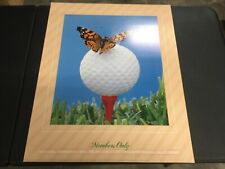 "BEAUTIFUL GOLF LITHOGRAPH PRINT ""MEMBERS ONLY"" BY MICHAEL AMMANN 1983"