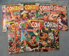 Conan the Barbarian 36 38 39 40 41 61 65 66 68 Marvel Bronze age Comic lot 9