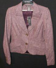 George by Mark Green Women's Size 4 - Dark Purple Blazer 45% Polyester