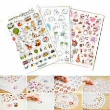 Molang Sticker Ver.1/2/3 Diary Planner Book Scrapbook Cute Rabbit Anime Decor