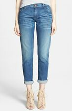 NWT True Religion Audrey in Modest Self Selvedge Relaxed Slim Boyfriend Jeans 24
