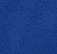 "Fleece Solid Polar Fleece Fabric Royal  Sold BTY Yard 60"" Wide Blanket clothes"