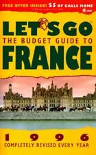 Let's Go: The Budget Guide to France, 1996  Paperback