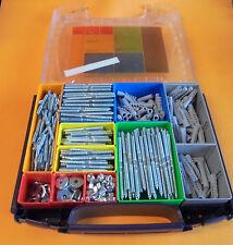 700 tlg Stockschrauben Set Stockschraube Box, Muttern, Scheiben, Dübel # 9411753