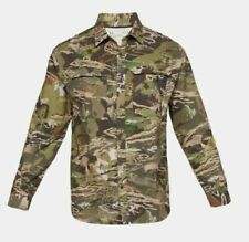 Under Armour ArmourVent Men's Medium No Fly Zone Early Season Forest Camo Shirt