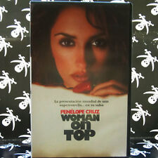 WOMAN ON TOP (Fina Torres) VHS . Penélope Cruz, Murilo Benicio, Harold Perrineau