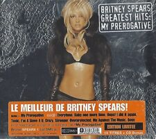 BRITNEY SPEARS / GREATEST HITS : MY PREROGATIVE - LIMITED EDITION DIGIPACK - 2CD