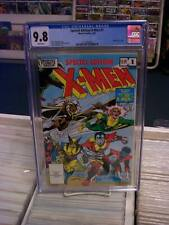 SPECIAL EDITION X-MEN #1 (Marvel Comics, 1983) CGC 9.8 ~ White Pages