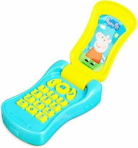 Peppa Pig Flip Phone Electronic Mobile Flip Phone With Sounds