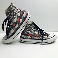 c3cd5926eb5caf Converse Chuck Taylor All Star Hi Top Shoes USA American Flag M 4 W 6  147063F
