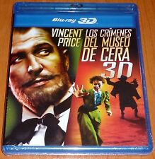 LOS CRÍMENES DEL MUSEO DE CERA / HOUSE OF WAX - BLURAY 3D & BLURAY Area B - Prec