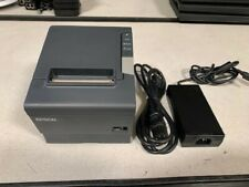 Epson TM-T88V/M244A Thermal Receipt Printer w/ USB Interface and Power Supply