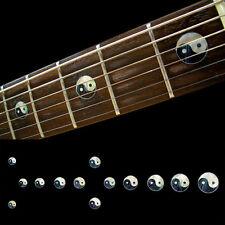 Fret Markers Inlay Sticker Decal Guitar & Bass - Yin Yang Taijitu Symbol