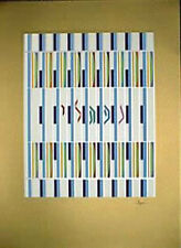 "Yaacov Agam       ""Naftali  1 of the 12 Tribes  Agamograph""            BA"