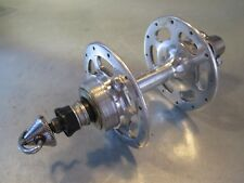 ZEUS HF VINT. 70's 28o ALLOY FRENCH THREAD REAR Hub 120mm With FLAT QR BX70 Rs9