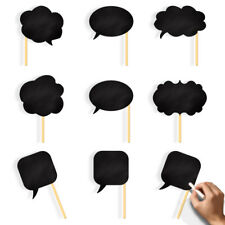 Photo Booth Chalk Props Set Wedding Birthday Party Decoration Attached to Stick