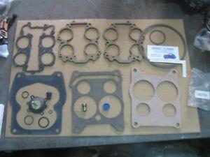 HOLLEY 4 BARREL 4360 SPREADBORE CARBURETOR KIT 151523 QJET REPLACEMENT GM V8