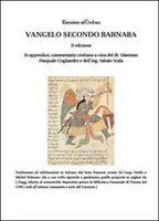 Vangelo secondo Barnaba-Commentario cristiano. Ediz. multilingue - ER