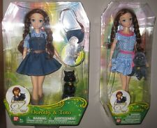 Set Two The Wizard Of Oz Legends Dorothy Toto Dolls Dorothy's Return NIB Barbie