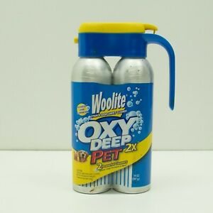Woolite Oxy Deep Pet Stain Remover Cleaner Oxygen Activated New Discontinued