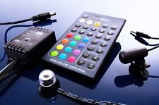Centralina controller per strip led rgb telecomando e sound controller dmx led