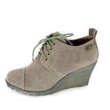 Buffalo Damen Stiefel Stiefeletten Gr 37 38 39 40 41 Schuhe Braun Np 49 Neu