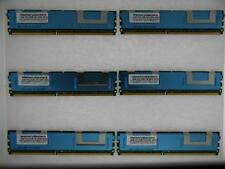 24GB 6x4GB MEMORY PC2-5300 ECC FULLY BUFFERED Apple Xserve Late 2006 Server