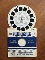 Sawyer's Vintage 1949 View-Master Reel # 121 Salt Lake City Utah U.S.A.
