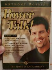 """ANTHONY ROBBINS POWER TALK """"THE POWER OF ANTICIPATION"""" WITH STEPHEN COVEY, PH. D"""