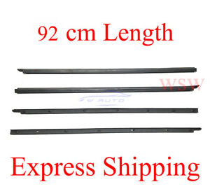 Weatherstrip Window Door Belt Moulding Seal Set fits 87-95 Nissan Terrano Pickup