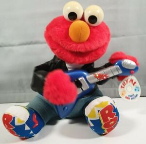 Ctw Sesame Street Rock And Roll Elmo Fisher Price 1998