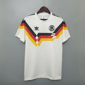 Maglia Vintage Germania 1990 Retro Soccer Jersey Camiseta