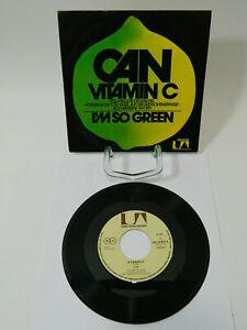 "Can – Vitamin C / I'm So Green - Single 7"" 1972 Tatort Krautrock - RAR TOP"