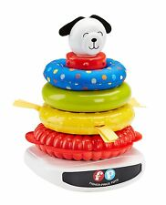 FISHER PRICE ROLY POLY ROCK A STACK CLASSIC TOY - TEXTURED RINGS 1963 LOOK *NEW*
