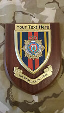 Royal Logistic Corps RLC Personalised Military Wall Plaque UK Made