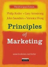 Principles of Marketing: European Edition By Philip Kotler, Gar .9780273646624