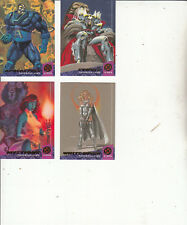 X-Men:94 Fleer Ultra-[4 Cards 60,62,64,65 ]-Lot 23-Cards