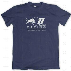 T-Shirt Red Bull F1 Racing #11 Sergio Perez 🇲🇽 Motorsport Tee Adult Sz Navy