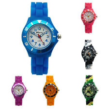 Ravel Kids Childs Silicone Jelly Band Quartz Watch Easy Read 6 Colours