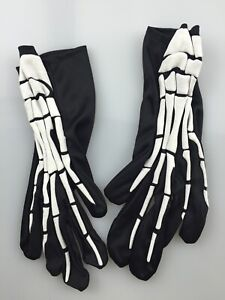 Skeleton Gloves UV glow