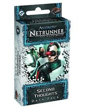 Android: Netrunner Card Game TCG Data Pack Second Thoughts NEW SEALED