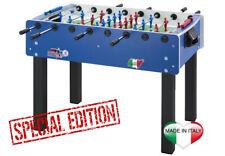Calciobalilla Roberto Sport MATCH 2.2 colore blu - aste rientranti