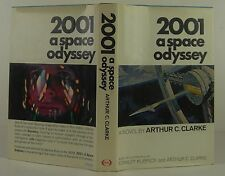 ARTHUR C. CLARKE 2001: A Space Odyssey SIGNED FIRST EDITION