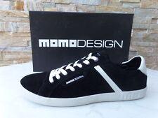 Momodesign Momo Sneakers 40 Gr Scarpe con Lacci Scarpe Nere Nuovo Origin.