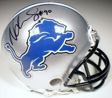 Ndamukong Suh Autographed Detroit Lions Riddell Mini Helmet